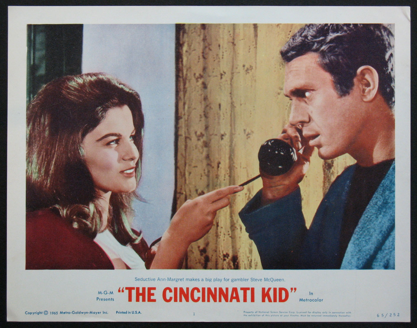 CINCINNATI KID, THE @ FilmPosters.com