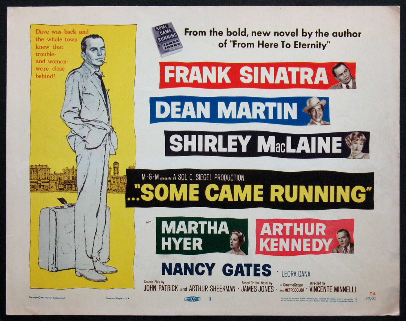 SOME CAME RUNNING @ FilmPosters.com