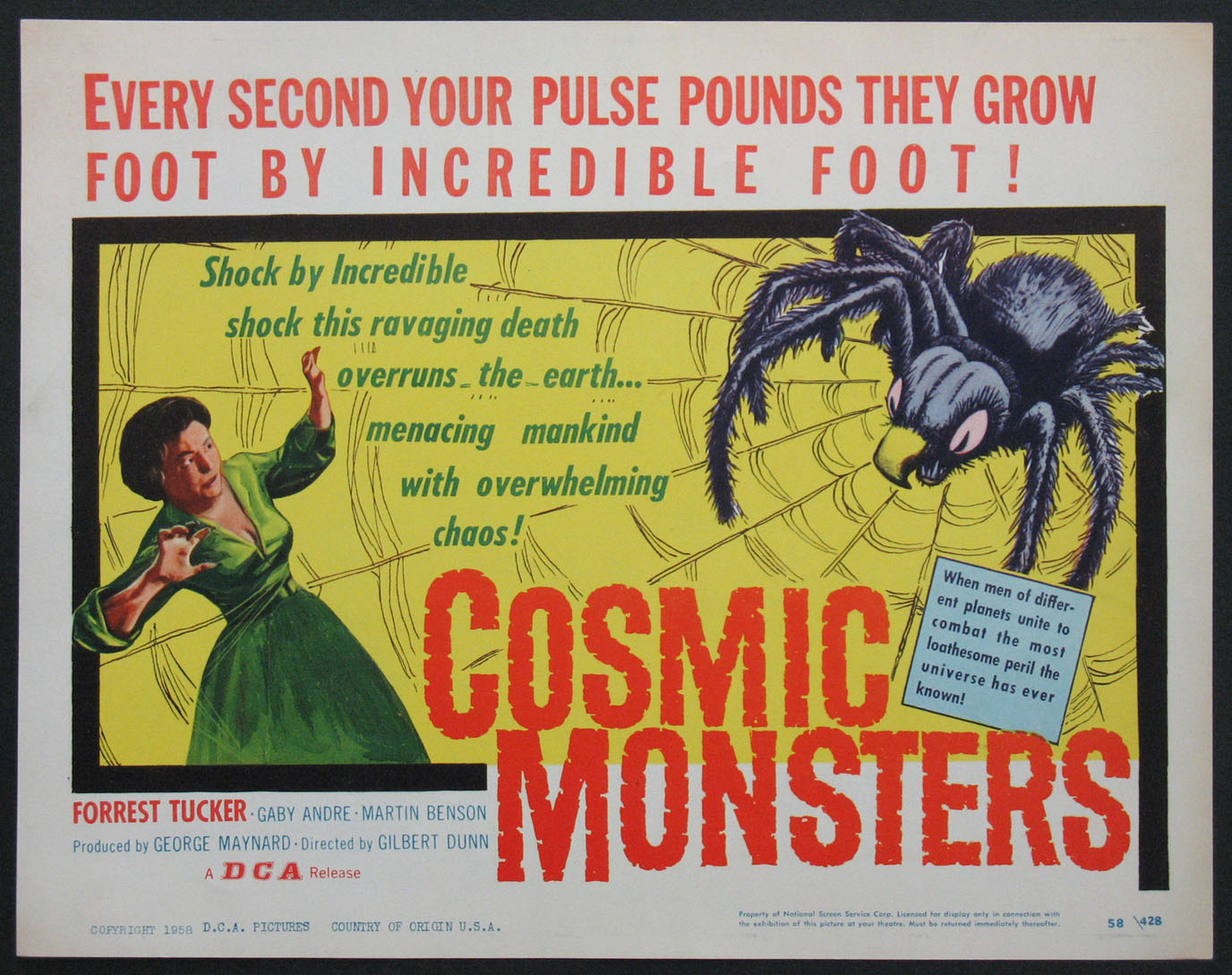 COSMIC MONSTERS @ FilmPosters.com