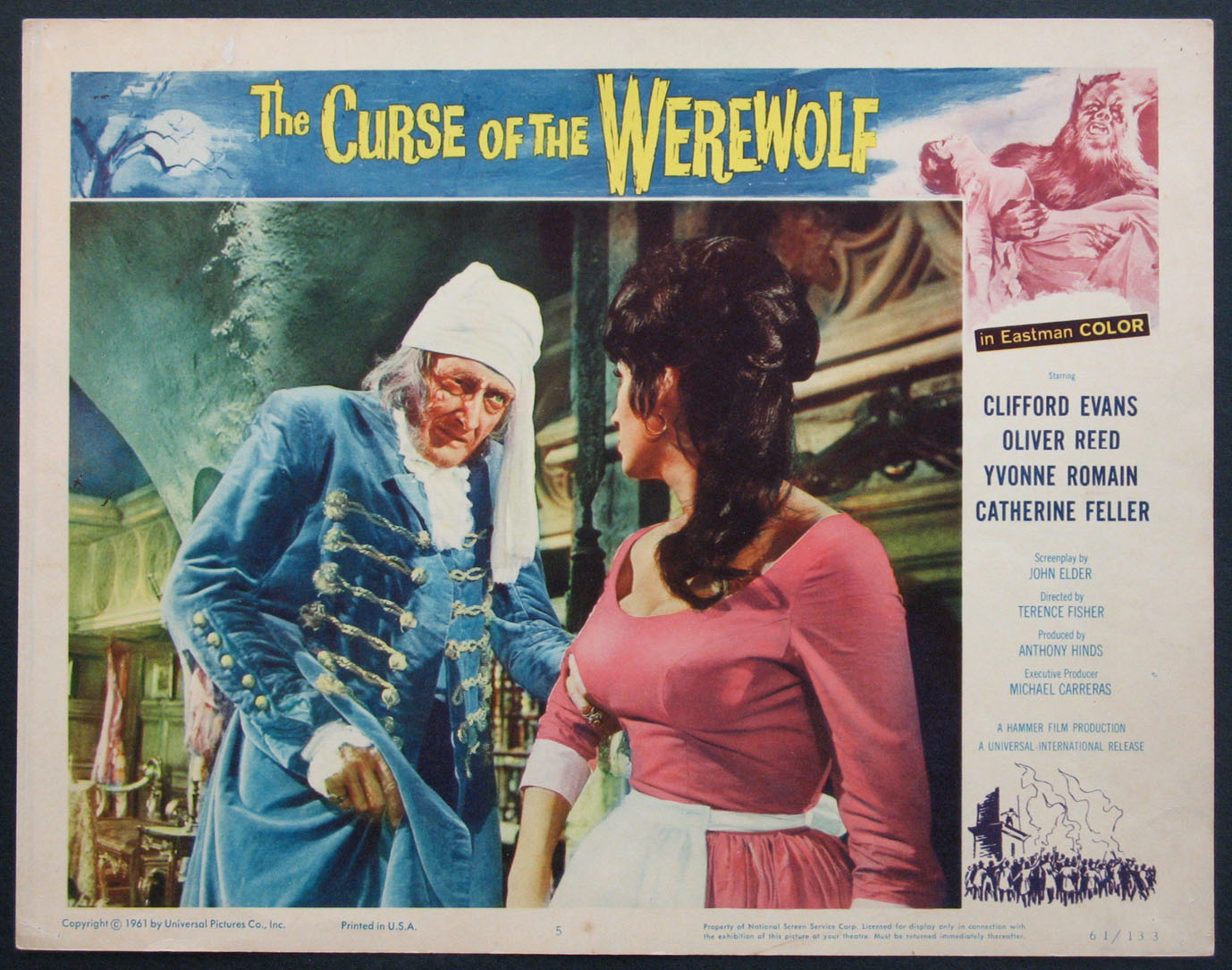 CURSE OF THE WEREWOLF @ FilmPosters.com