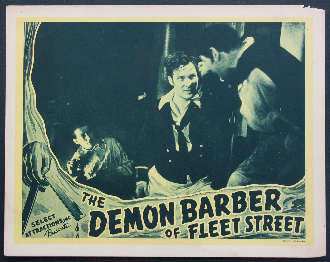 DEMON BARBER OF FLEET STREET @ FilmPosters.com