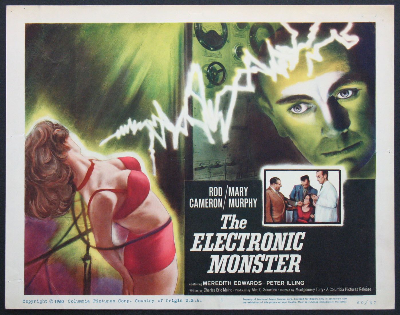 ELECTRONIC MONSTER, THE @ FilmPosters.com