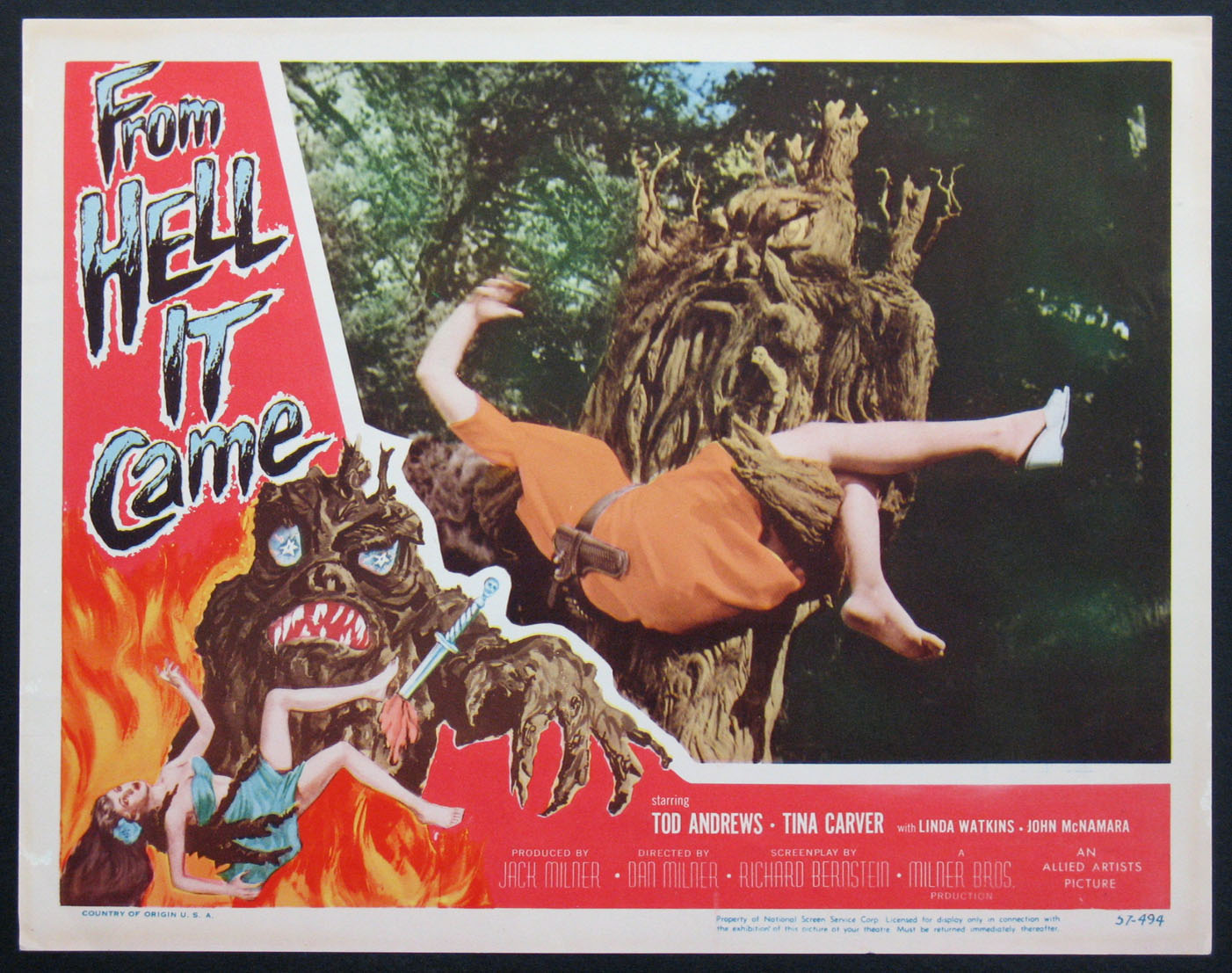 FROM HELL IT CAME @ FilmPosters.com