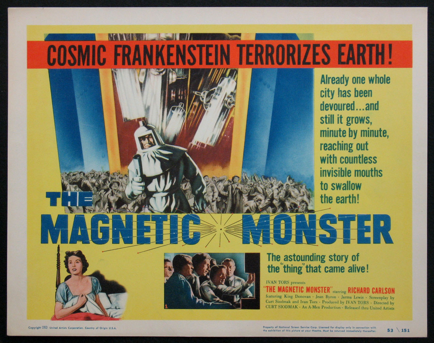 MAGNETIC MONSTER, THE @ FilmPosters.com