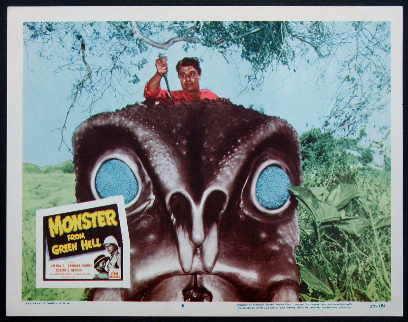 MONSTER FROM GREEN HELL @ FilmPosters.com