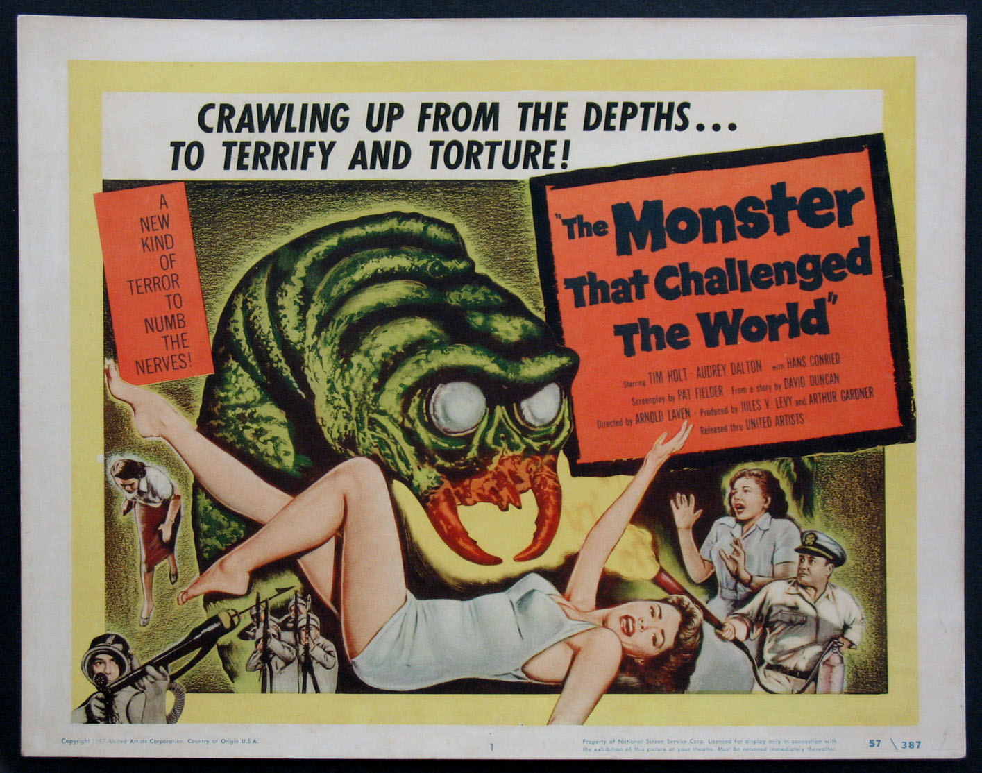MONSTER THAT CHALLENGED THE WORLD @ FilmPosters.com