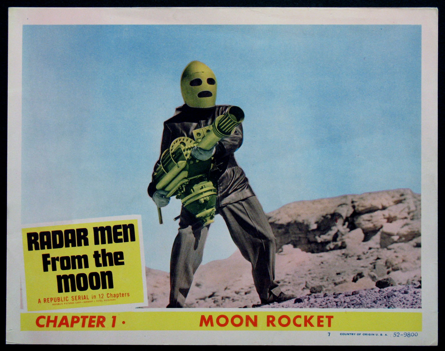 RADAR MEN FROM THE MOON @ FilmPosters.com