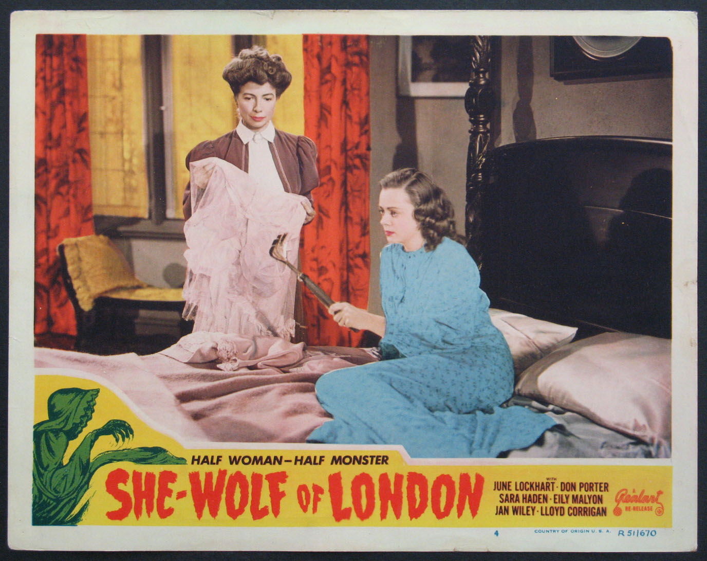 SHE-WOLF OF LONDON @ FilmPosters.com