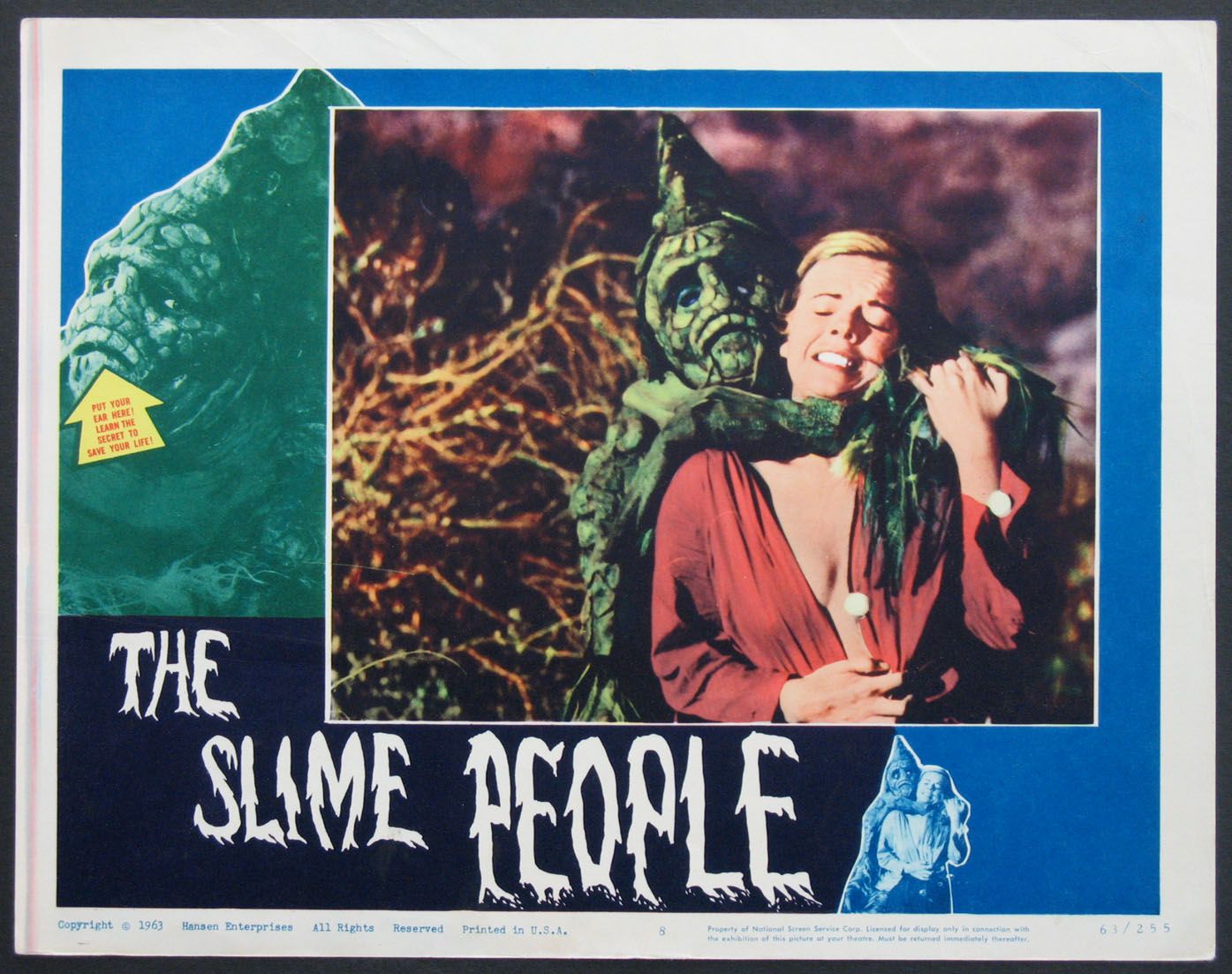 SLIME PEOPLE, THE @ FilmPosters.com