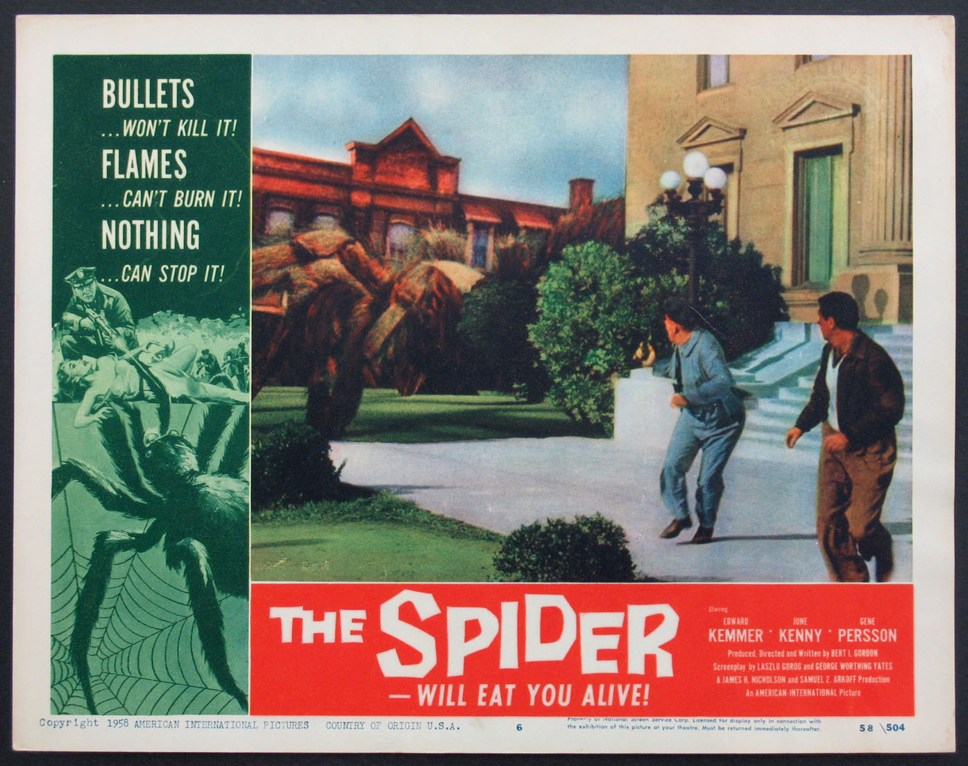 SPIDER, THE (The Spider) @ FilmPosters.com