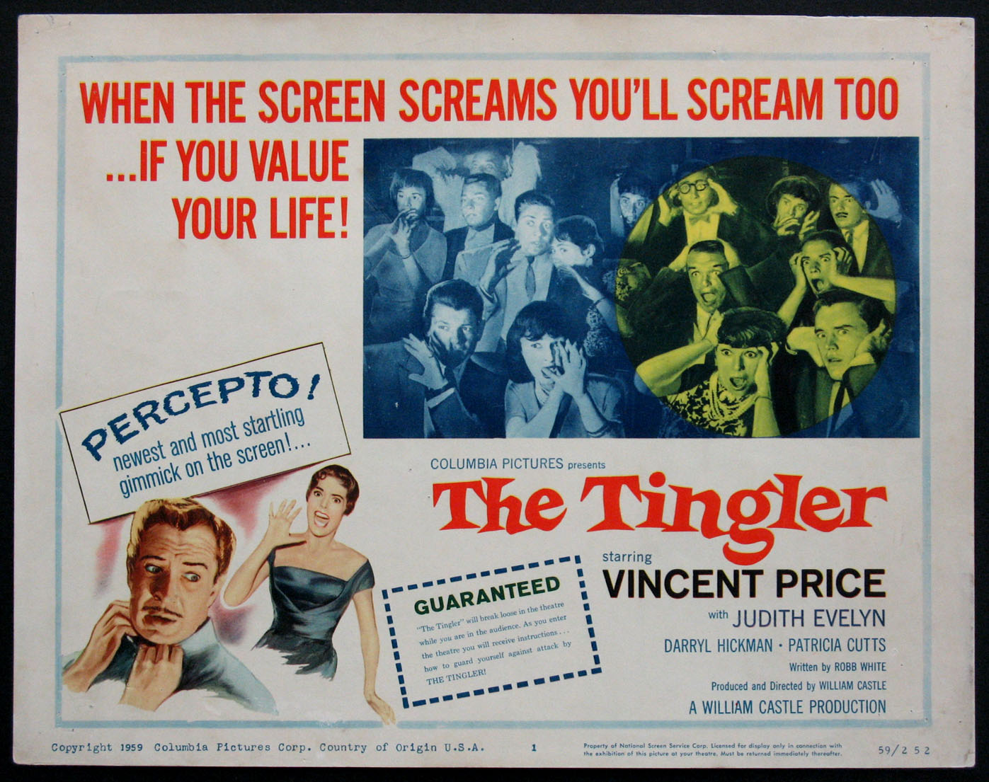 TINGLER, THE (The Tingler) @ FilmPosters.com