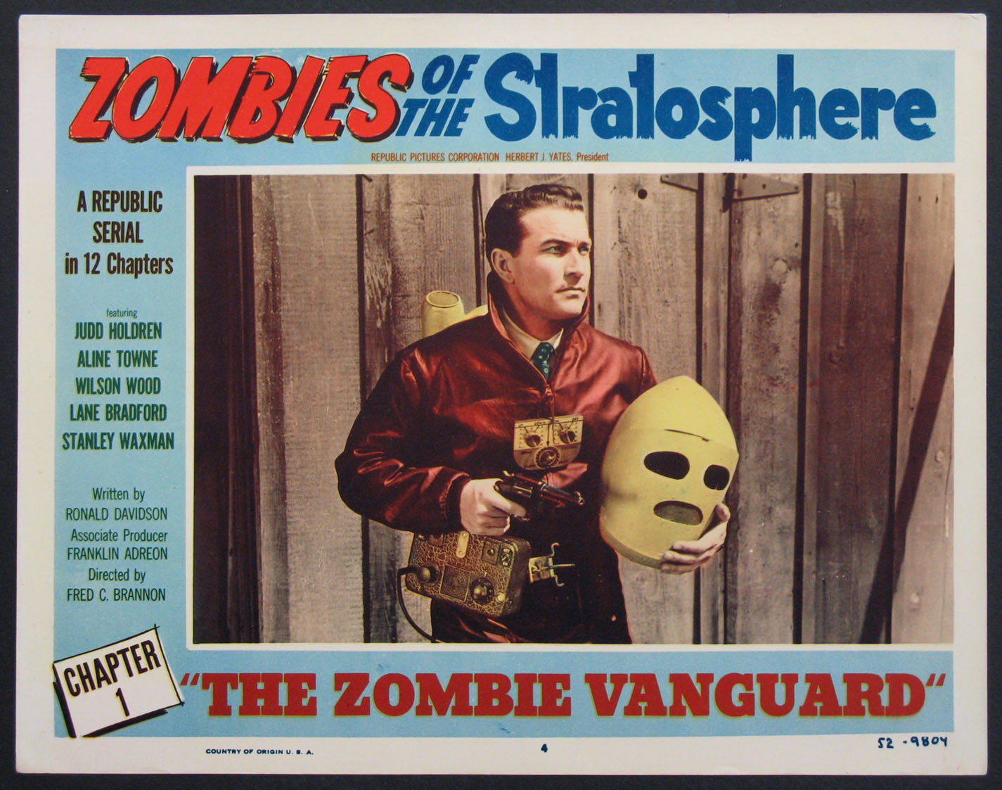 ZOMBIES OF THE STRATOSPHERE @ FilmPosters.com