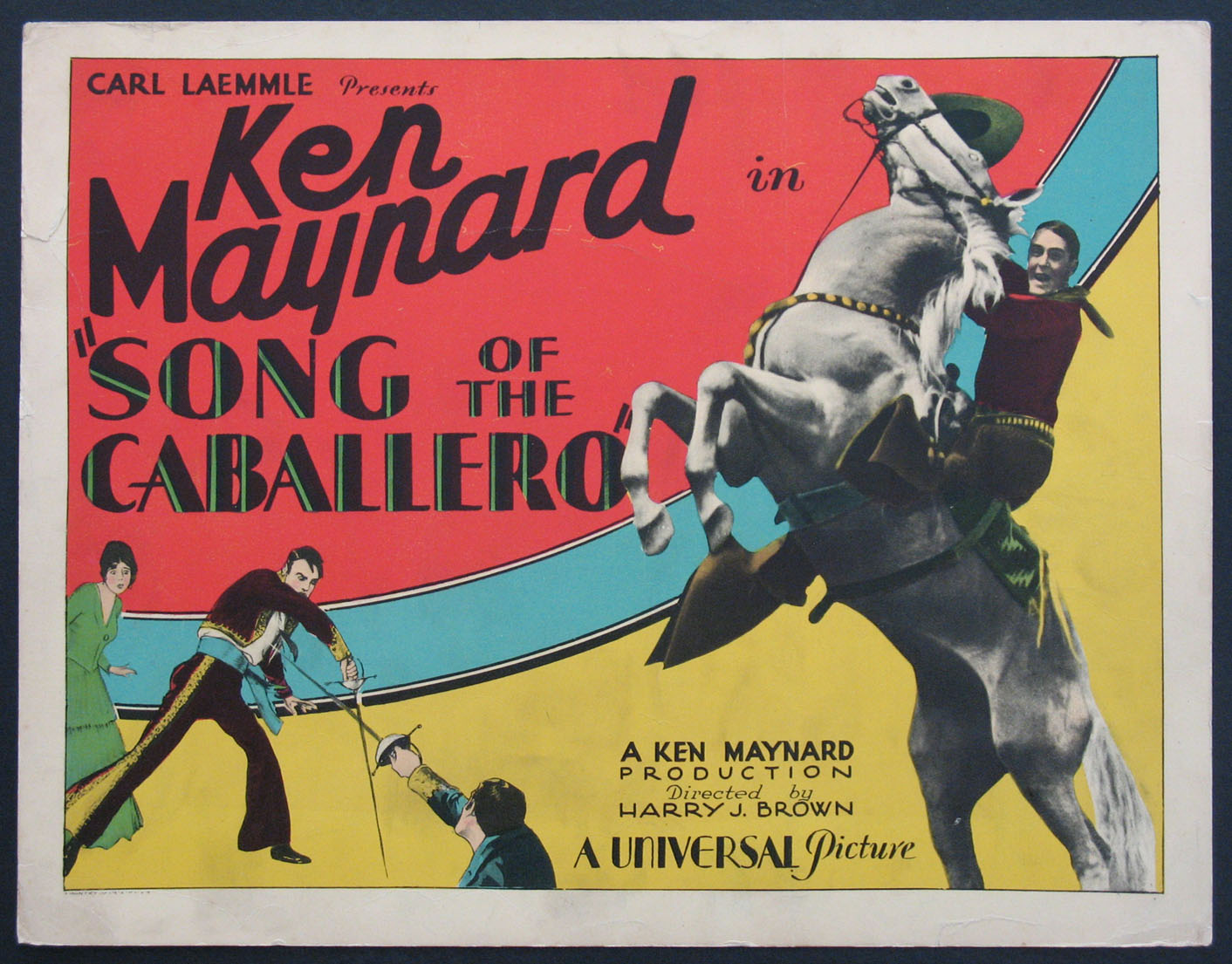 SONG OF THE CABALLERO @ FilmPosters.com