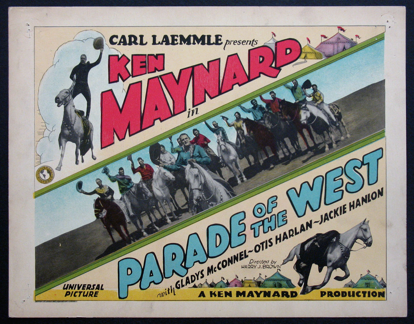 PARADE OF THE WEST @ FilmPosters.com
