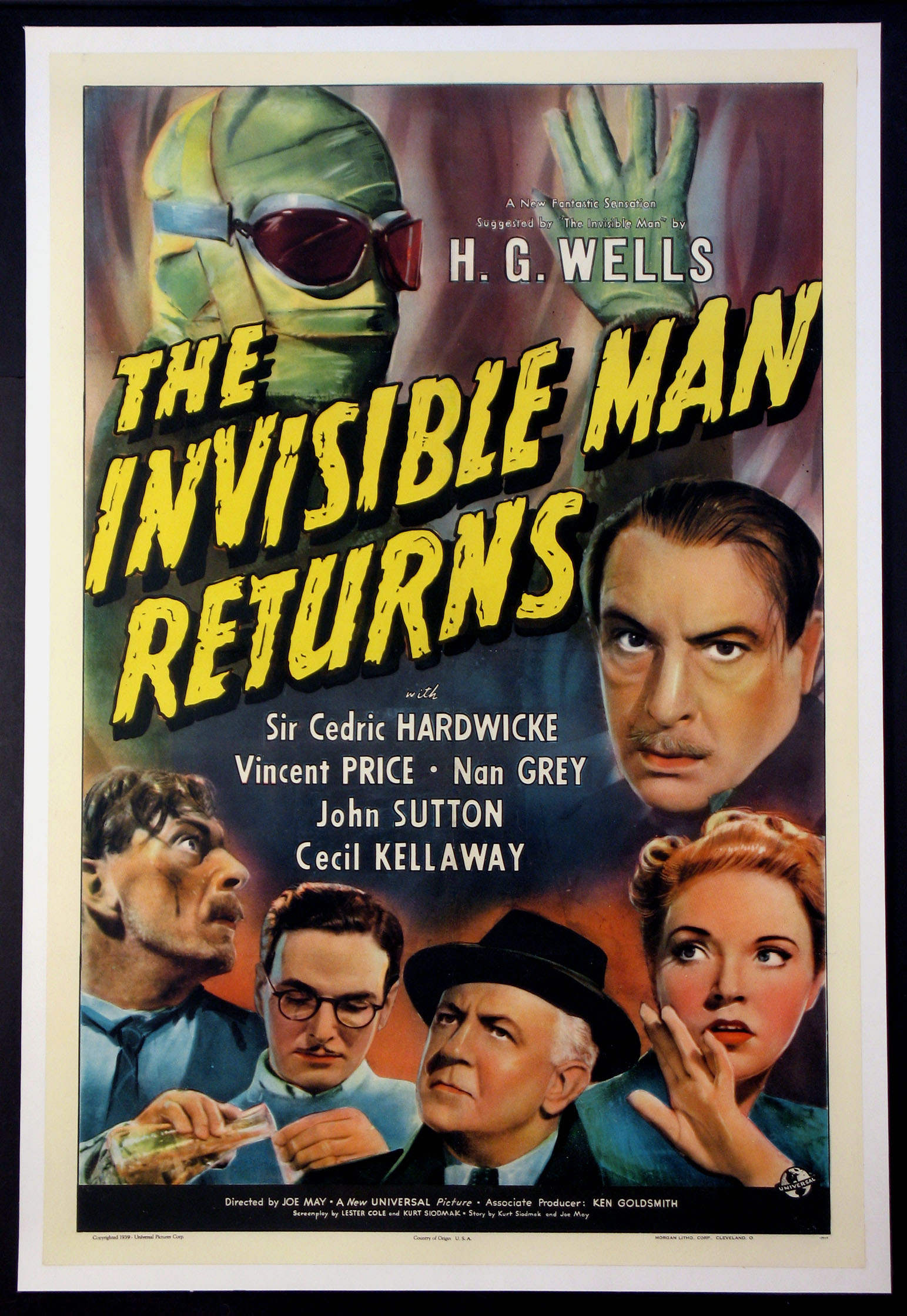 INVISIBLE MAN RETURNS, THE @ FilmPosters.com