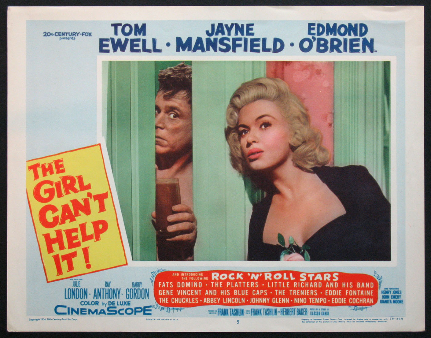 GIRL CAN'T HELP IT, THE (The Girl Cant Help It) @ FilmPosters.com