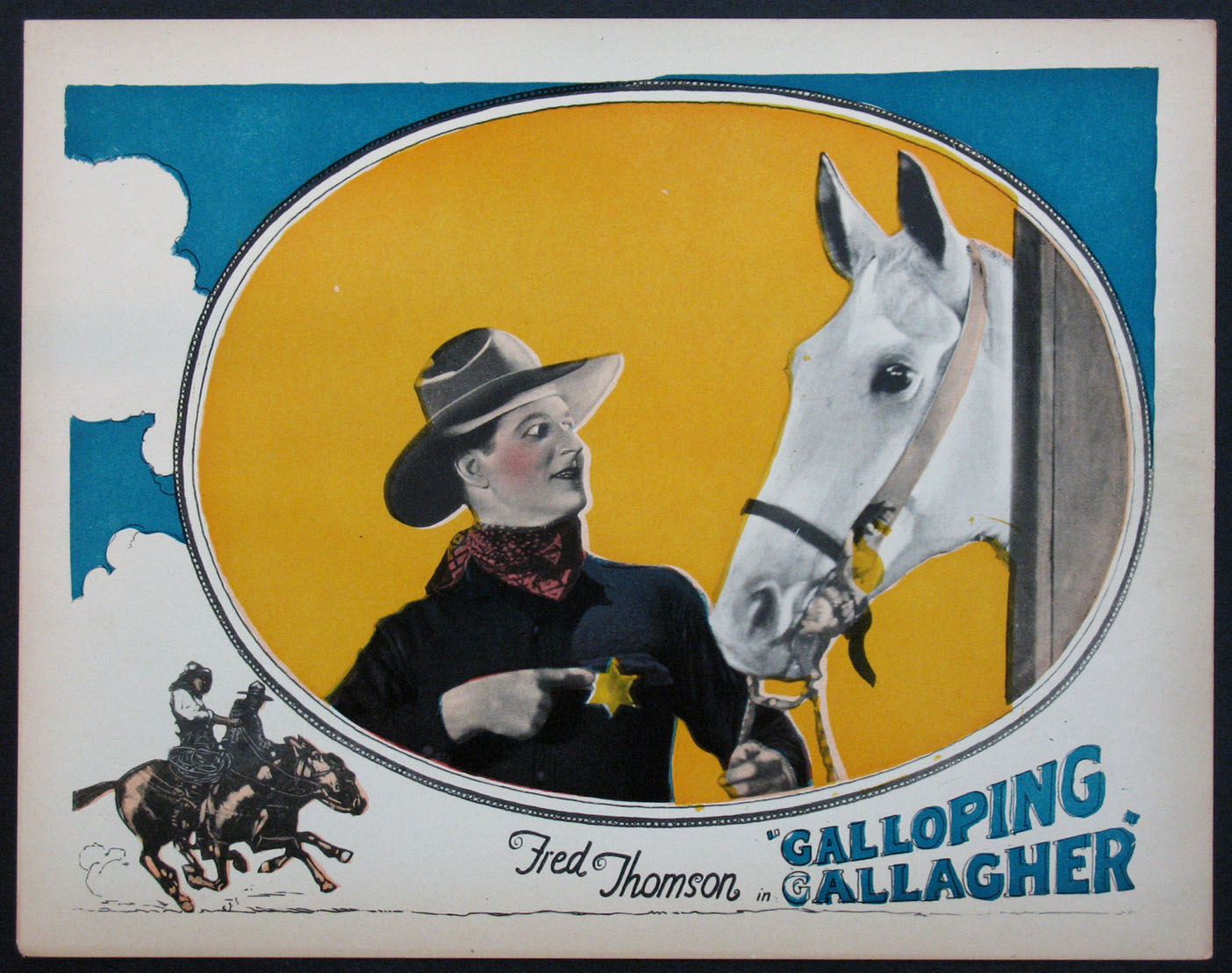 GALLOPING GALLAGHER @ FilmPosters.com