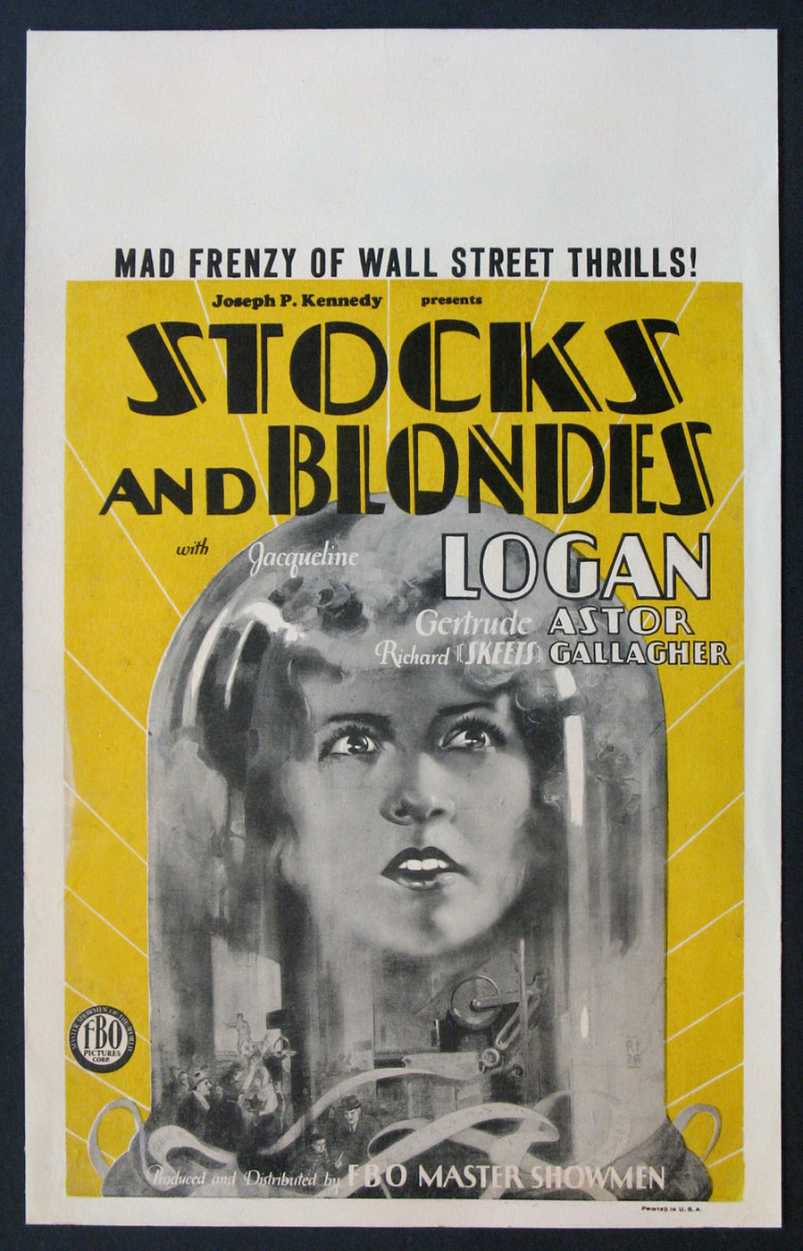 STOCKS AND BLONDES @ FilmPosters.com