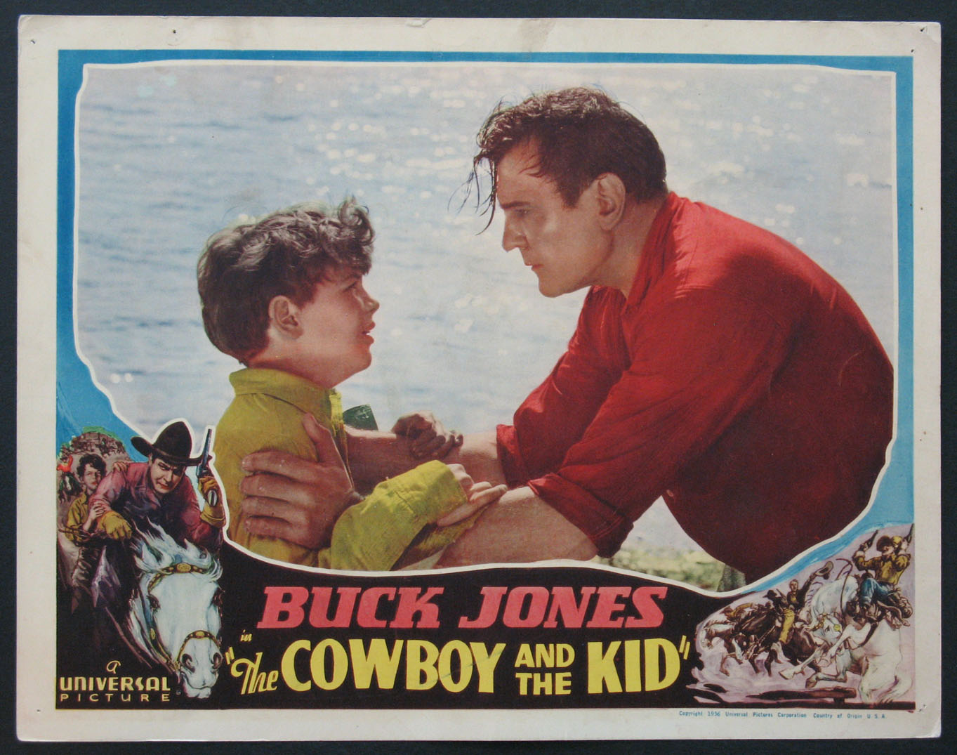COWBOY AND THE KID @ FilmPosters.com