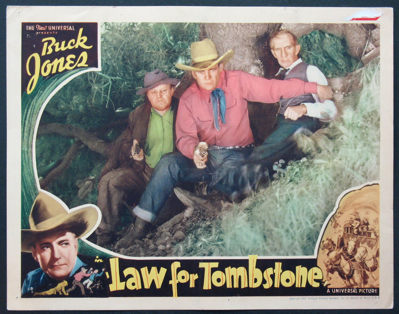 LAW FOR TOMBSTONE @ FilmPosters.com
