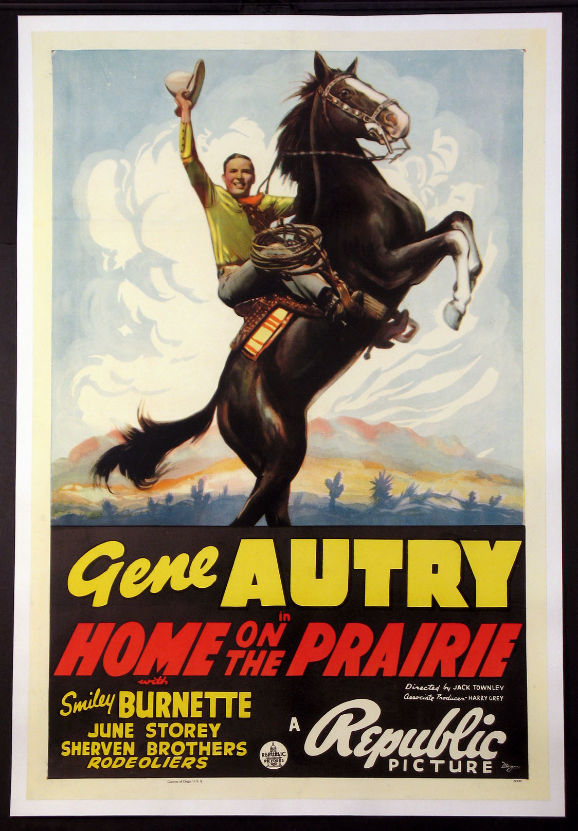 HOME ON THE PRAIRIE @ FilmPosters.com
