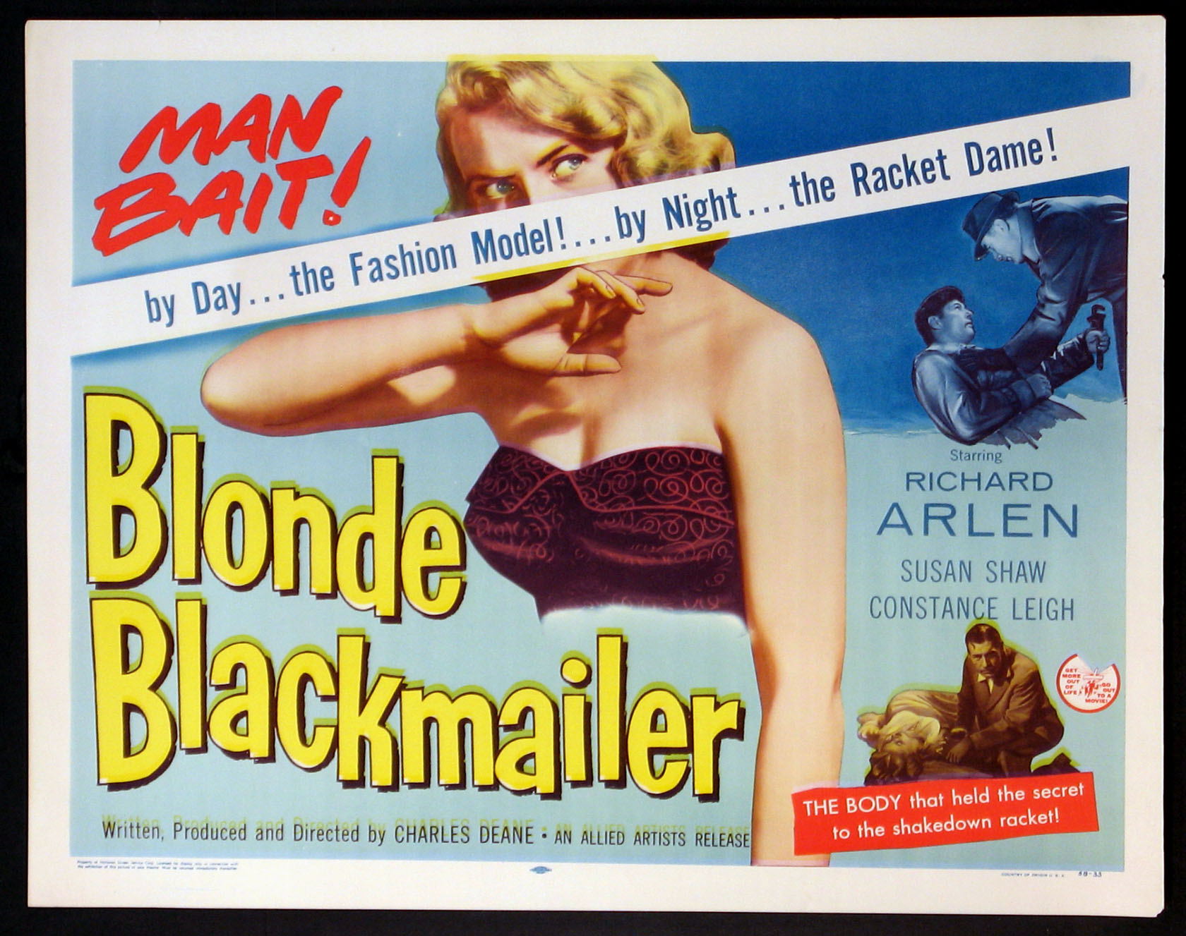 BLONDE BLACKMAILER @ FilmPosters.com