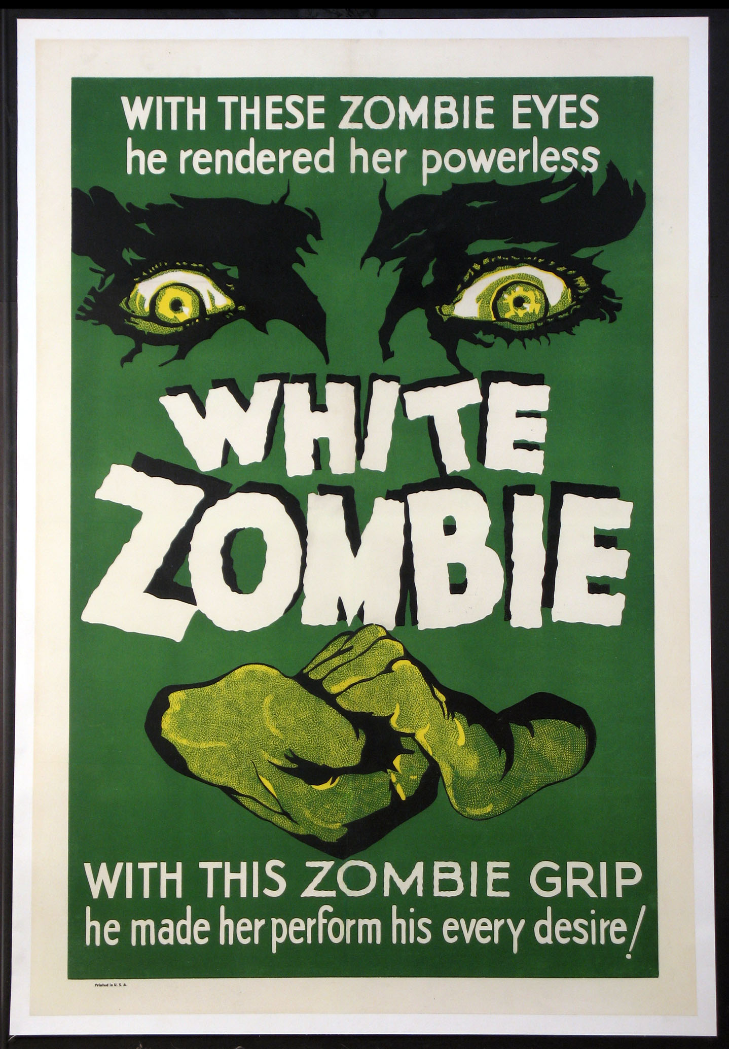 WHITE ZOMBIE @ FilmPosters.com