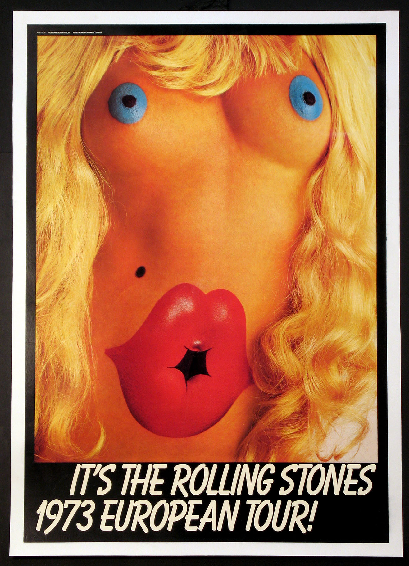 ROLLING STONES 1973 EUROPEAN TOUR POSTER @ FilmPosters.com