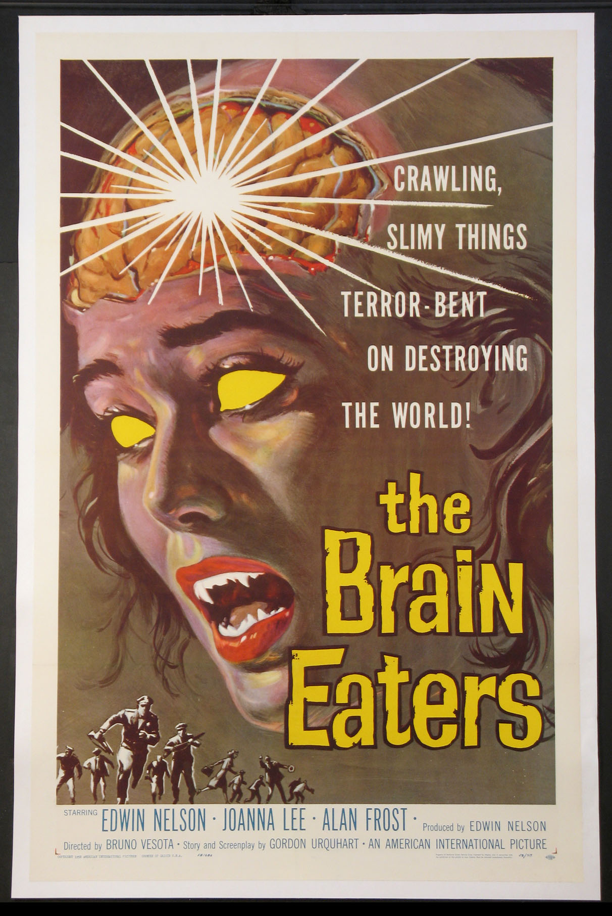 BRAIN EATERS, THE (The Brain Eaters) @ FilmPosters.com