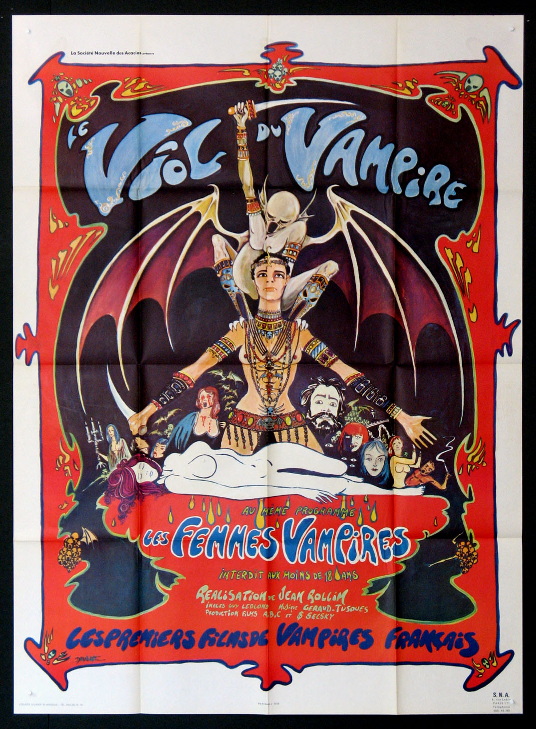QUEEN OF THE VAMPIRES (aka Rape of the Vampires, Le Viol du Vampire) @ FilmPosters.com