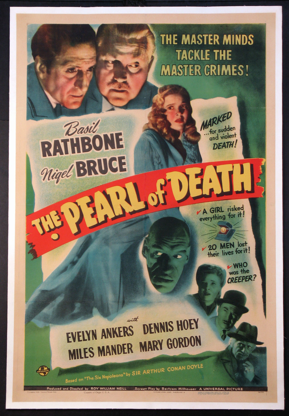PEARL OF DEATH (Sherlock Holmes series) @ FilmPosters.com