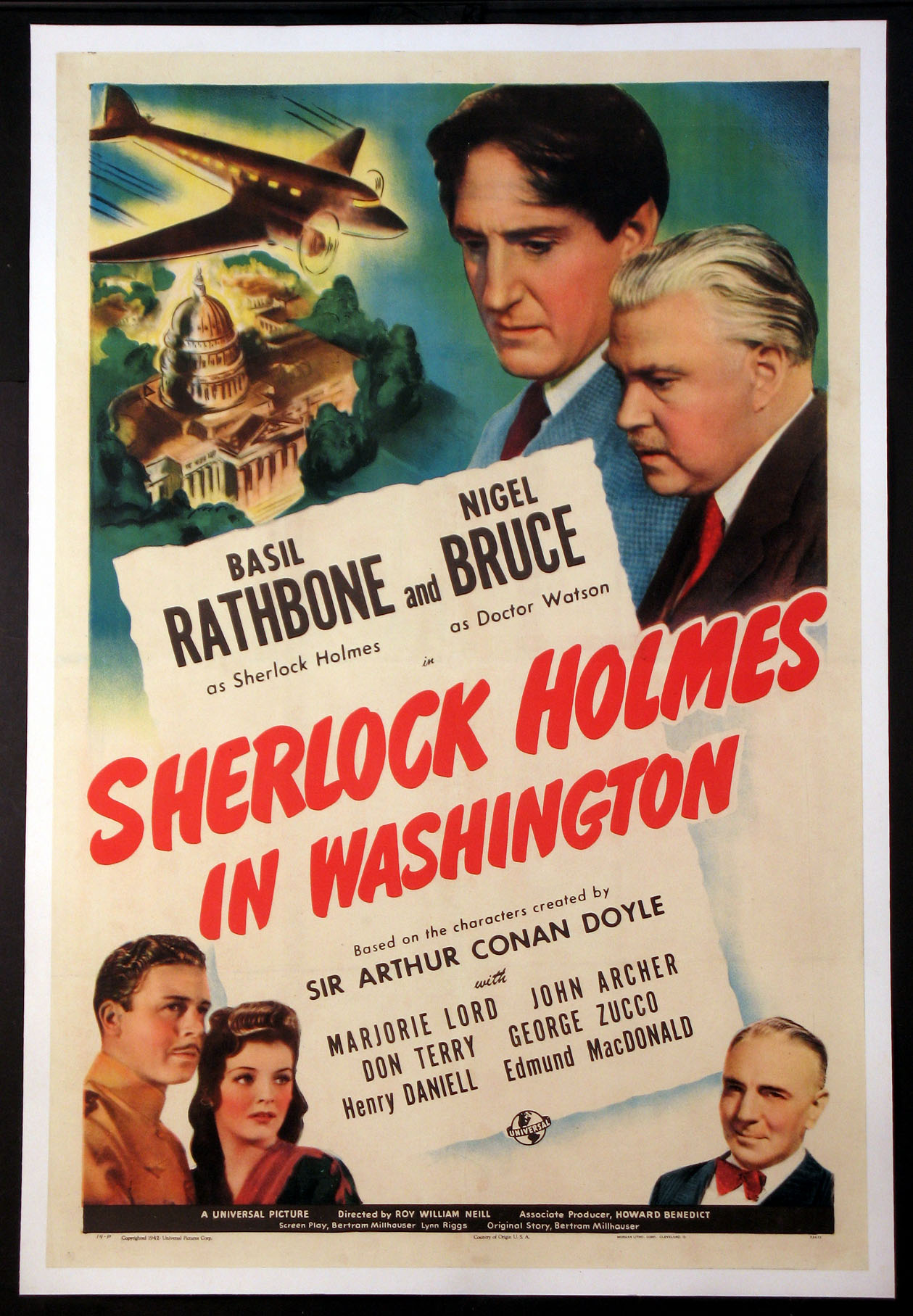 SHERLOCK HOLMES IN WASHINGTON @ FilmPosters.com