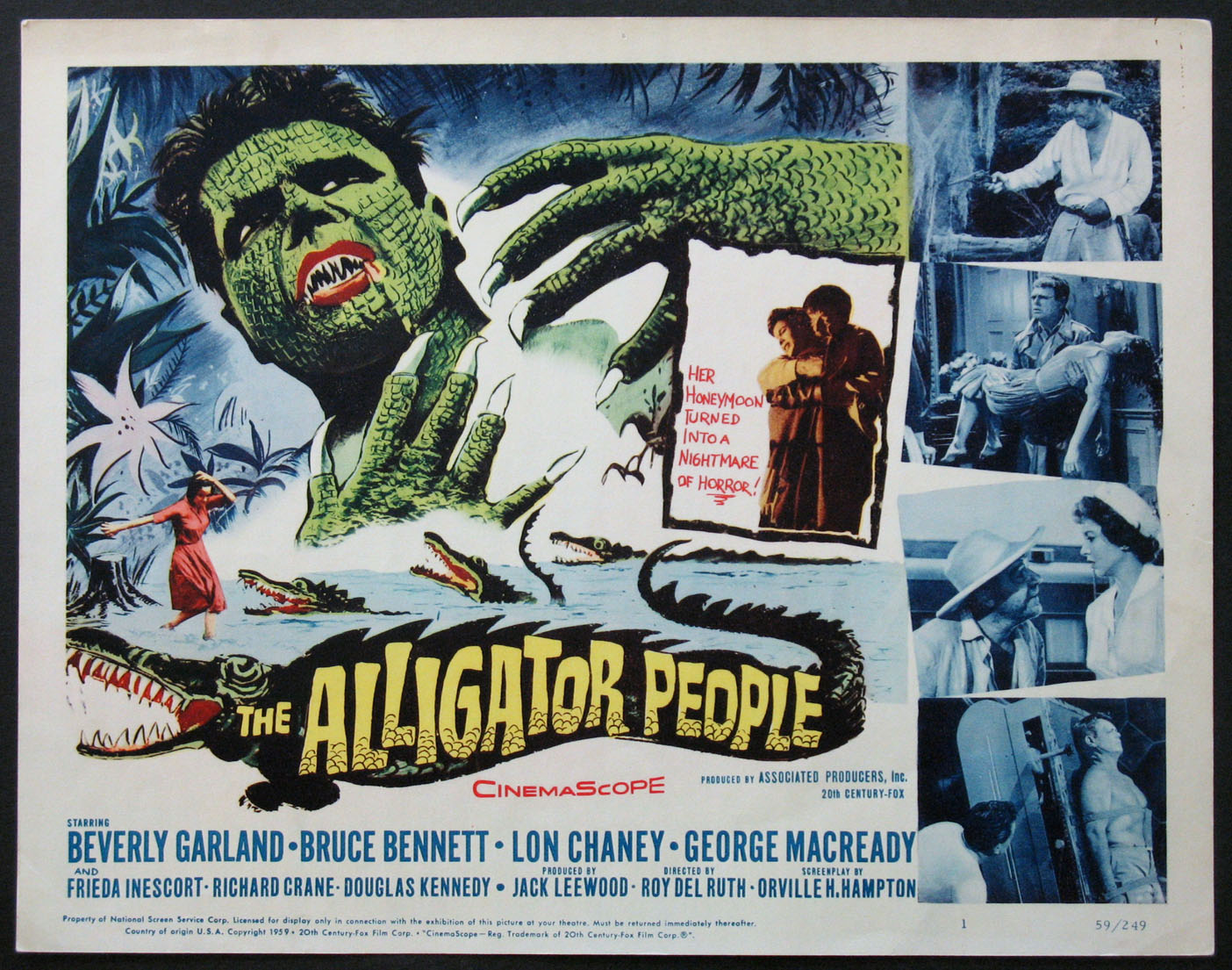 ALLIGATOR PEOPLE, THE @ FilmPosters.com