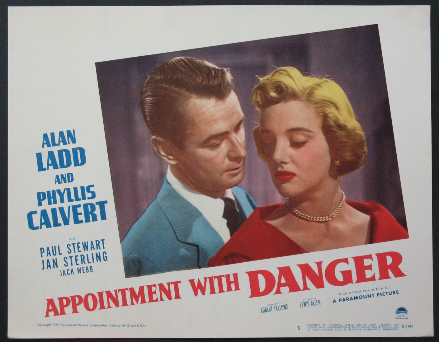 APPOINTMENT WITH DANGER @ FilmPosters.com