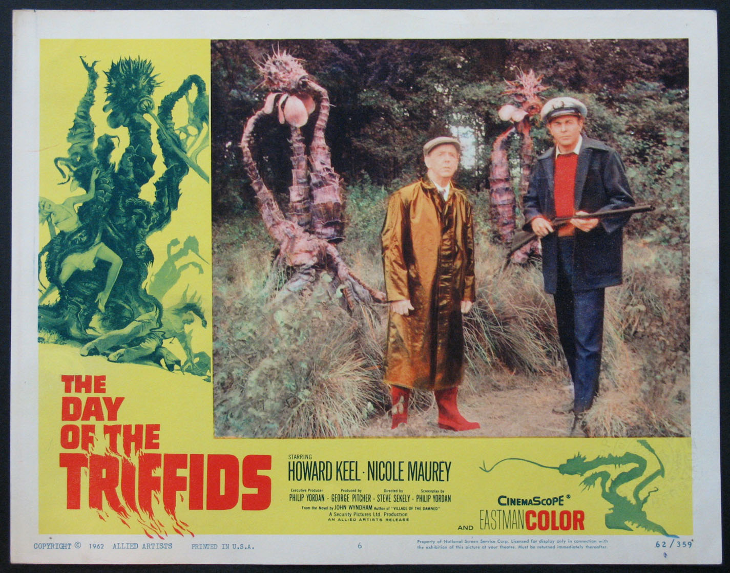 DAY OF THE TRIFFIDS @ FilmPosters.com