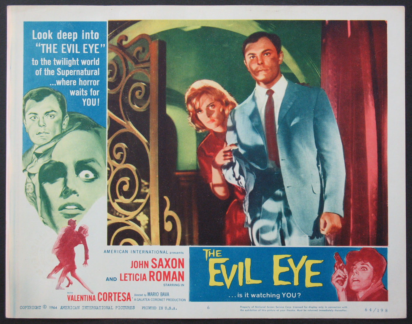 EVIL EYE, THE @ FilmPosters.com