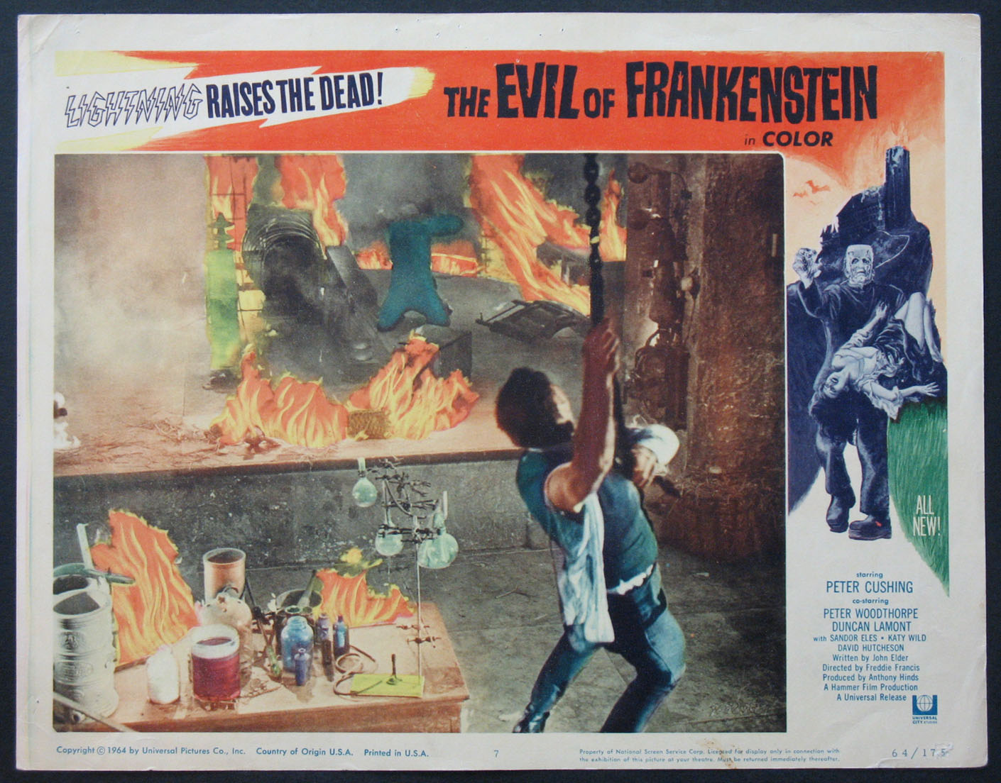 EVIL OF FRANKENSTEIN, THE @ FilmPosters.com