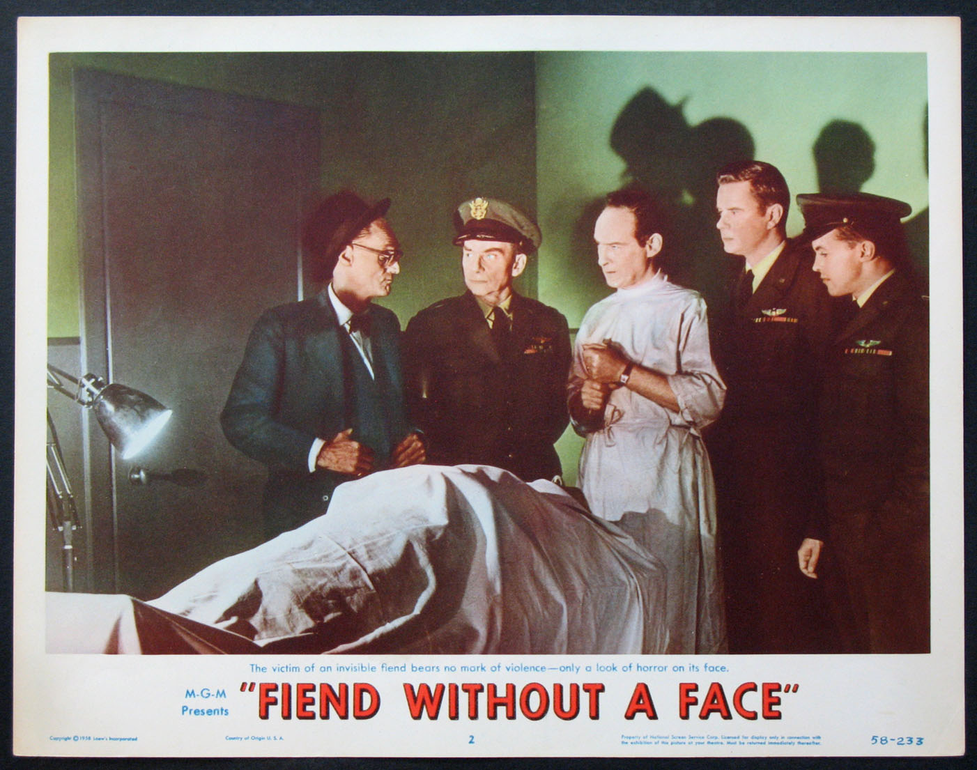FIEND WITHOUT A FACE @ FilmPosters.com