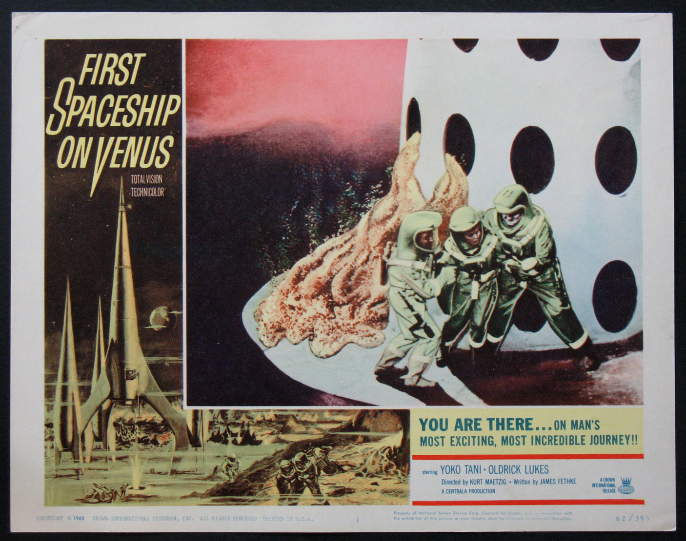FIRST SPACESHIP ON VENUS @ FilmPosters.com