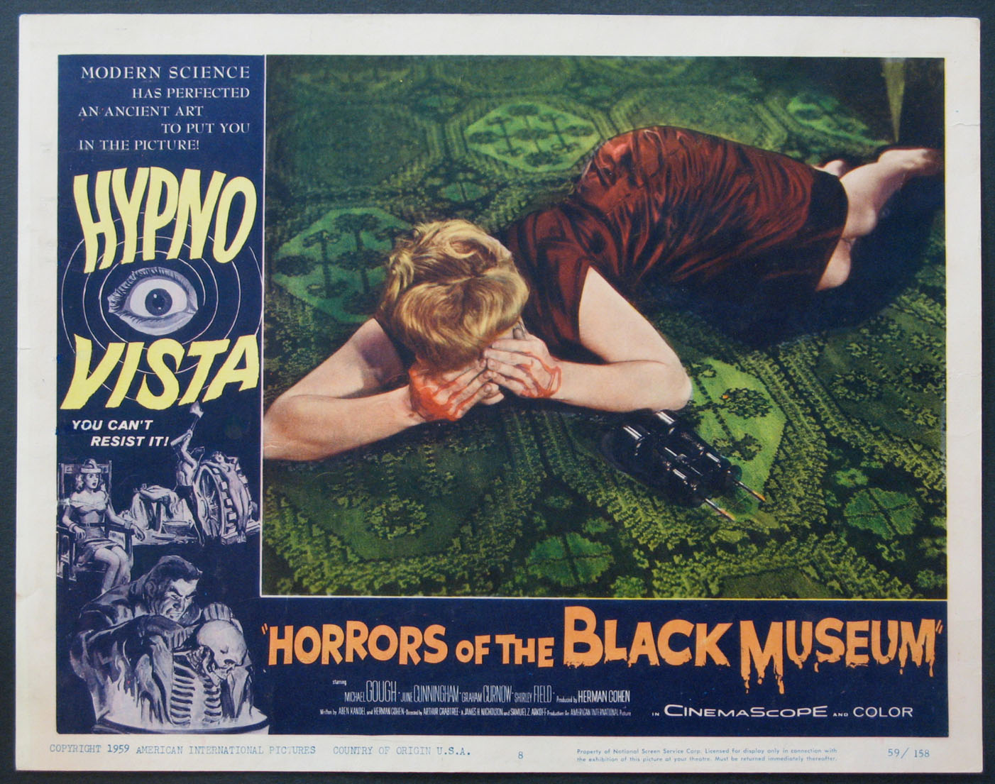 HORRORS OF THE BLACK MUSEUM @ FilmPosters.com
