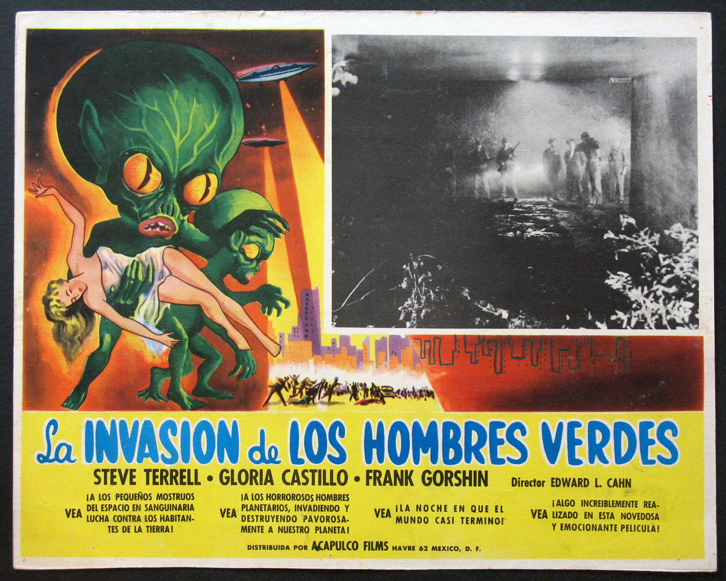 INVASION OF THE SAUCER MEN (Invasion of the Saucer-Men) @ FilmPosters.com