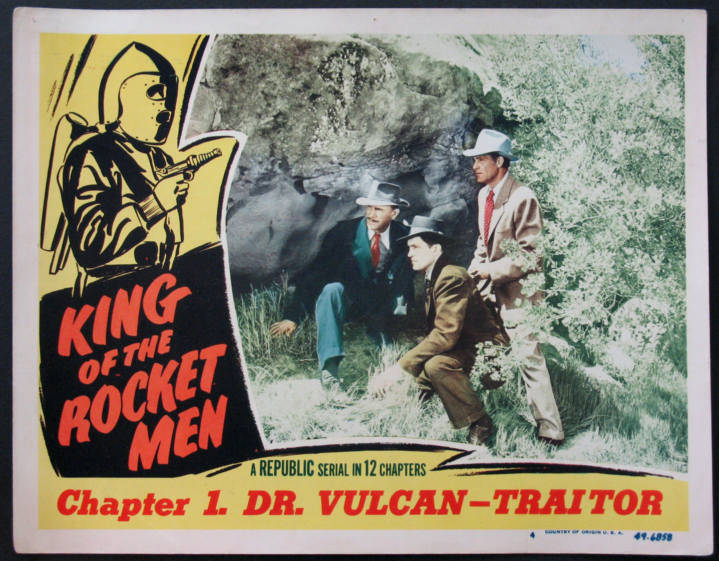 KING OF THE ROCKET MEN @ FilmPosters.com
