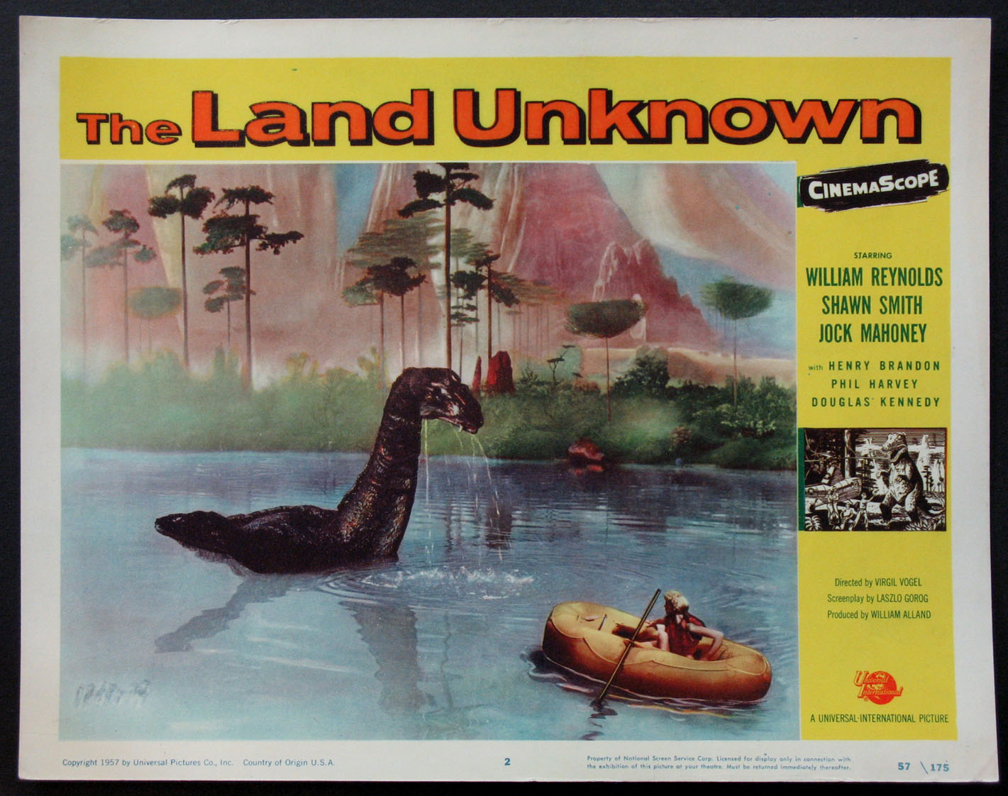 LAND UNKNOWN, THE (The Land Unknown) @ FilmPosters.com