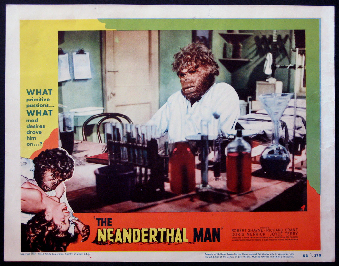 NEANDERTHAL MAN @ FilmPosters.com