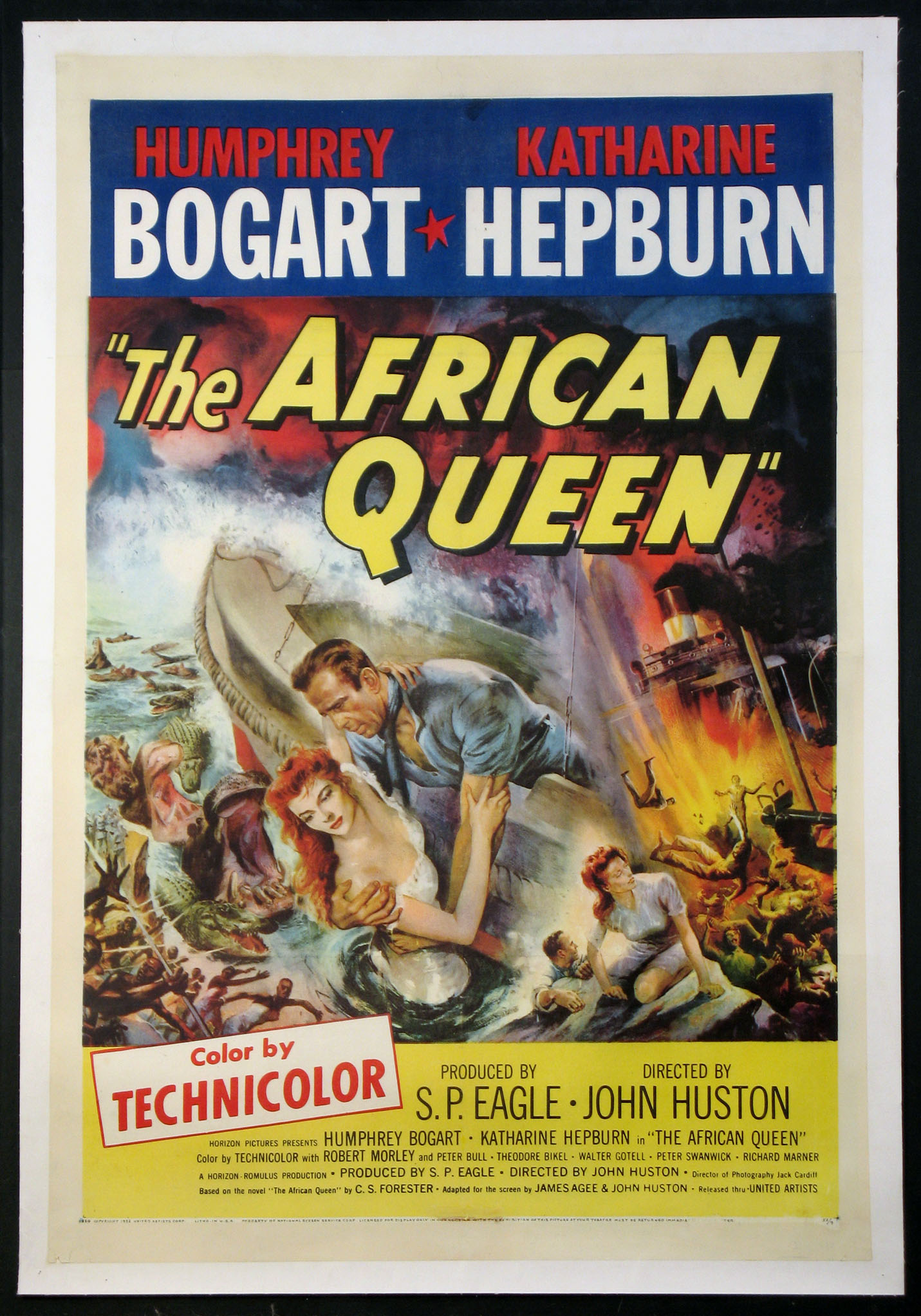 AFRICAN QUEEN, THE @ FilmPosters.com