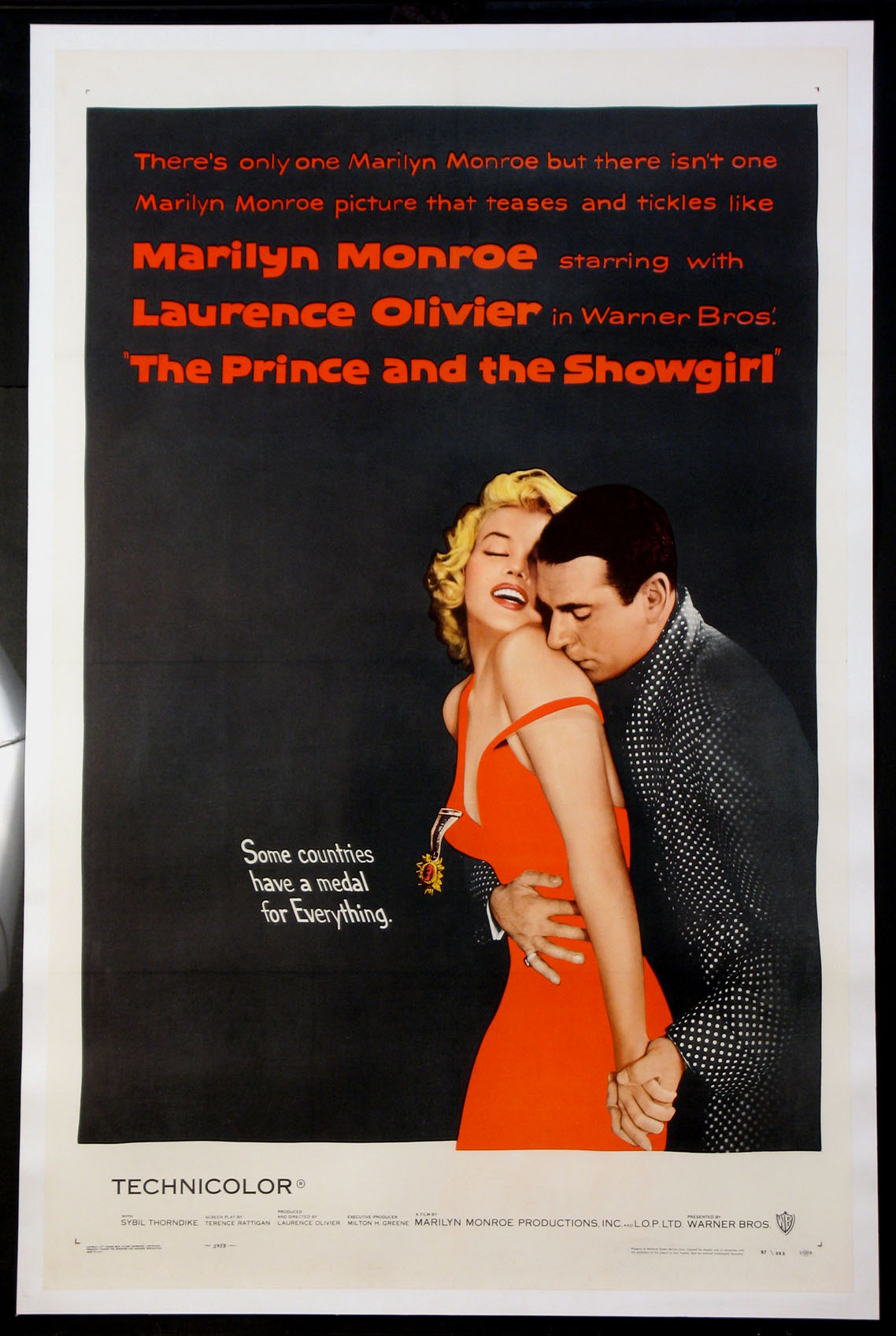 PRINCE AND THE SHOWGIRL, THE @ FilmPosters.com