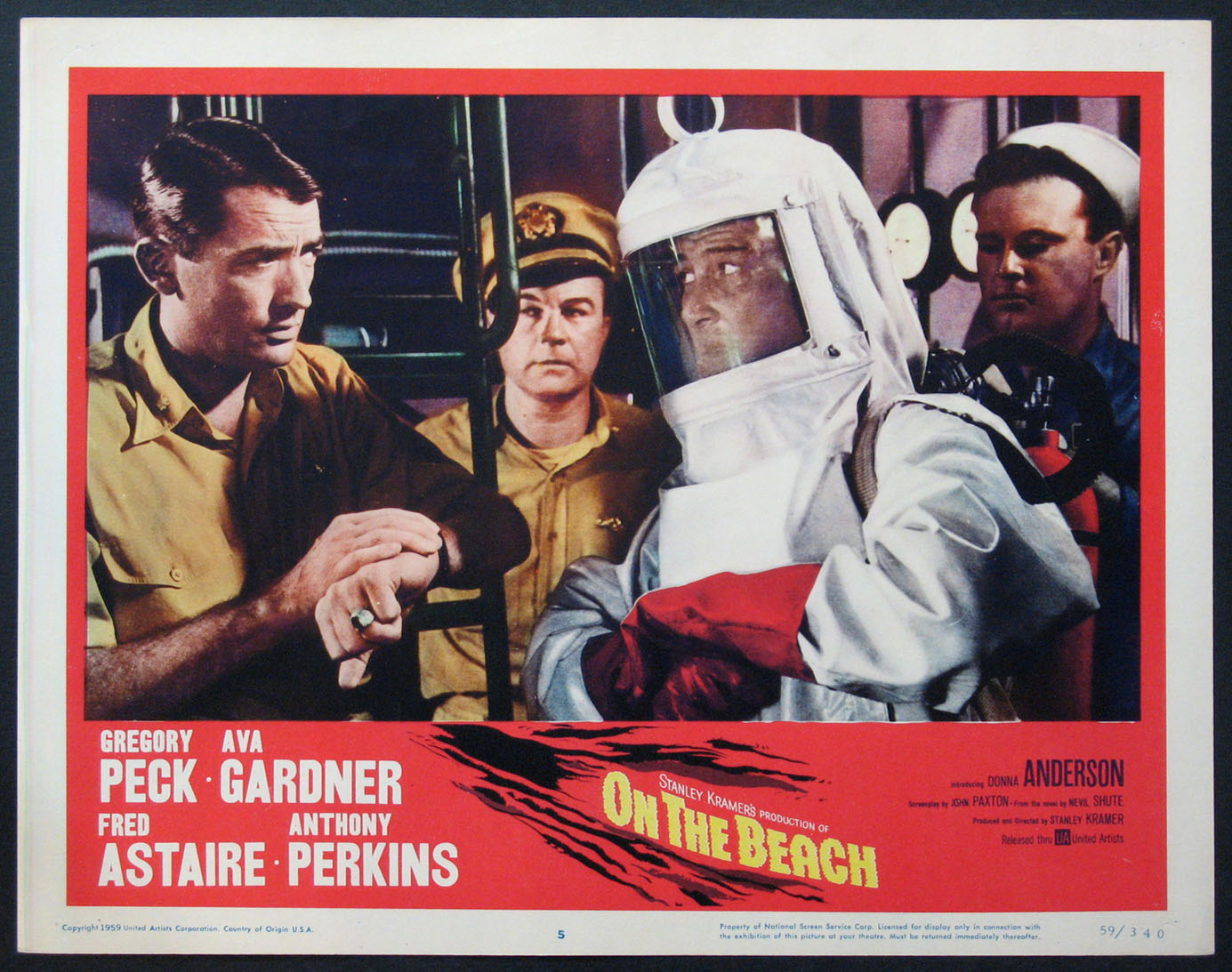 ON THE BEACH @ FilmPosters.com