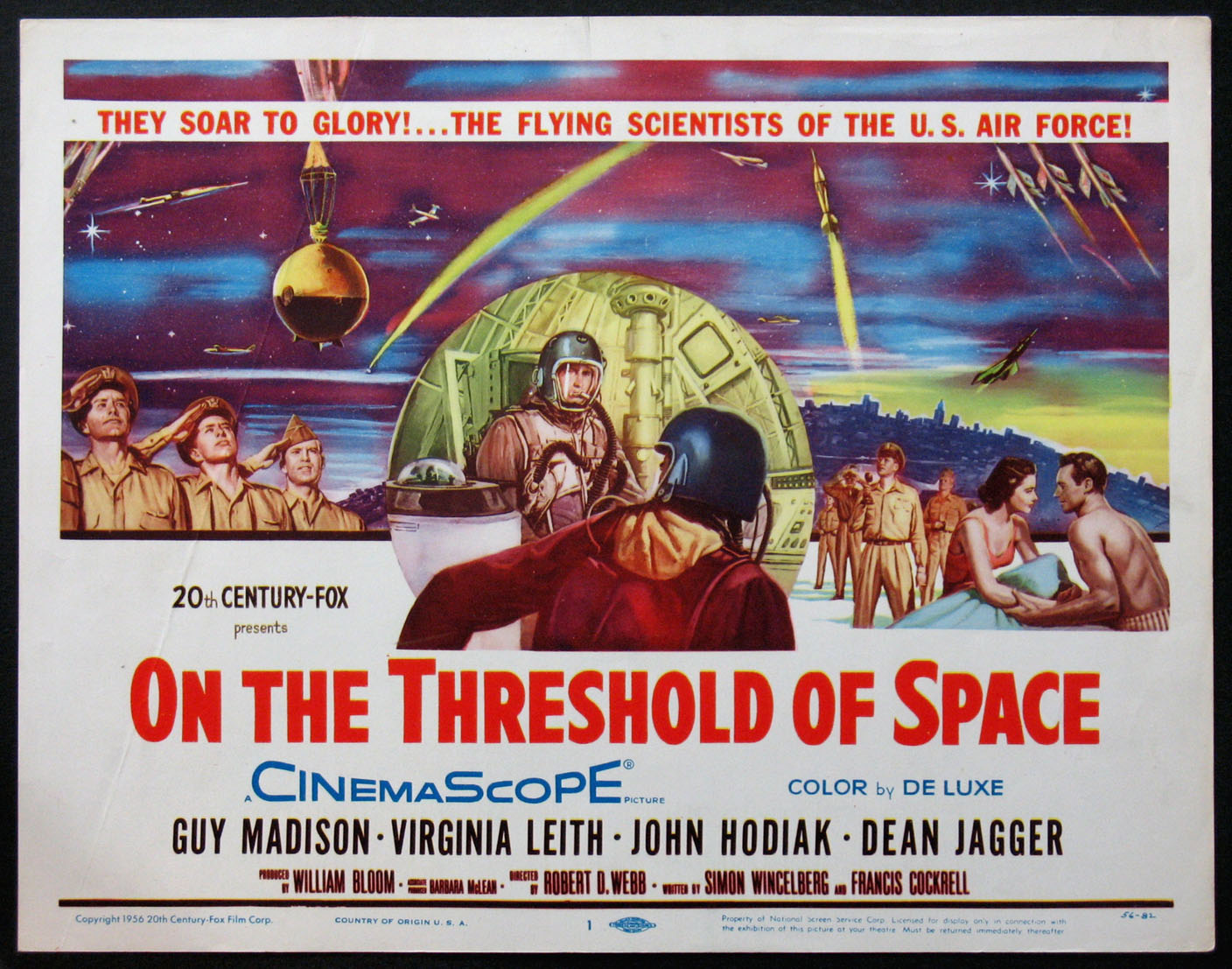 ON THE THRESHOLD OF SPACE @ FilmPosters.com