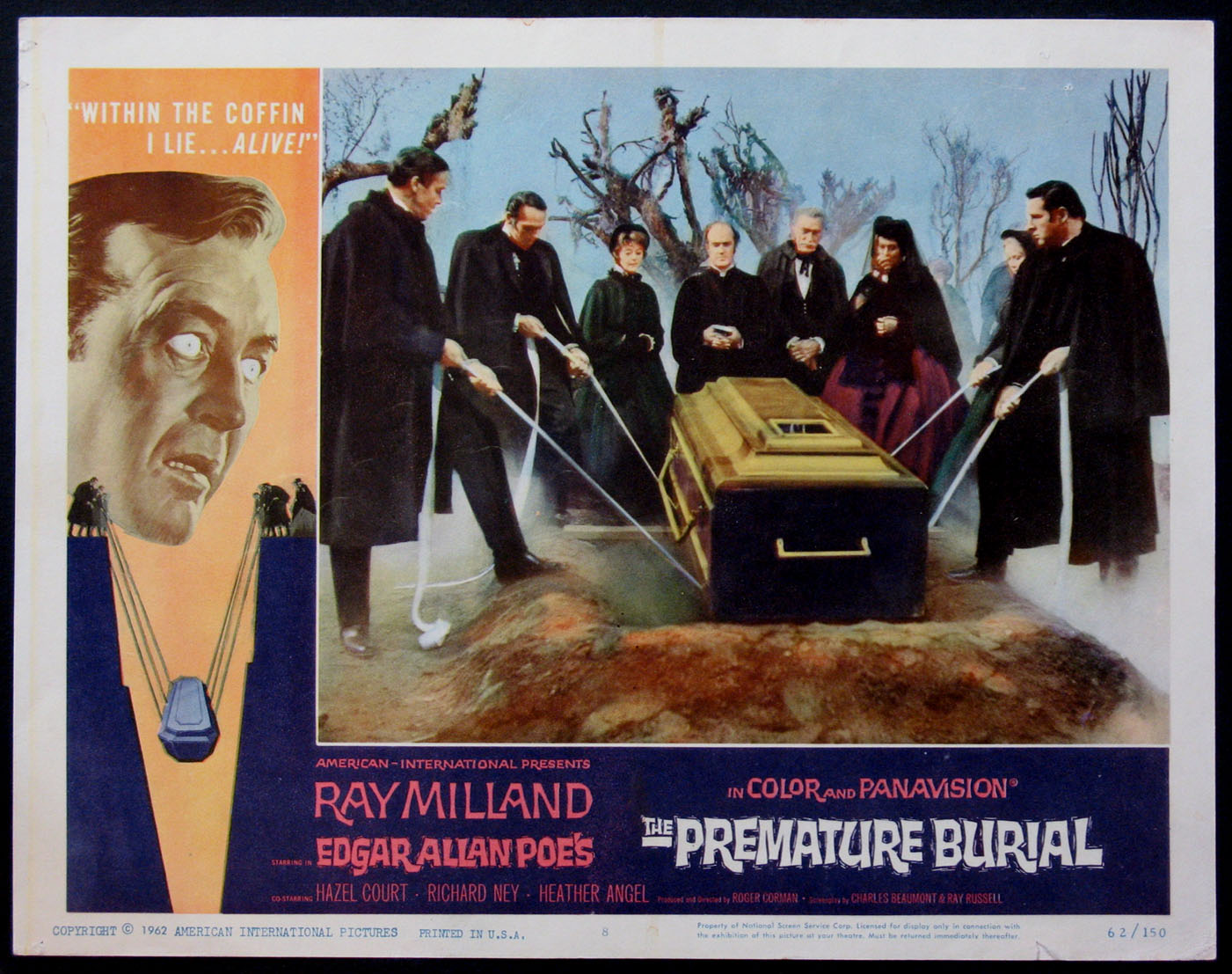 PREMATURE BURIAL, THE @ FilmPosters.com