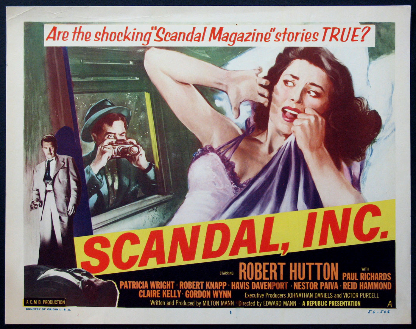 SCANDAL, INC. (Scandal Inc.) @ FilmPosters.com
